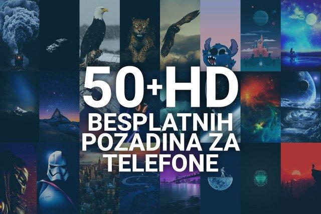 50+ besplatnih pozadina za telefone, visoke rezolucije! [4K | 2K | FullHD]