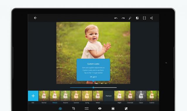 Adobe Photoshop Express aplikacija je dobila nov izgled i funkcije!