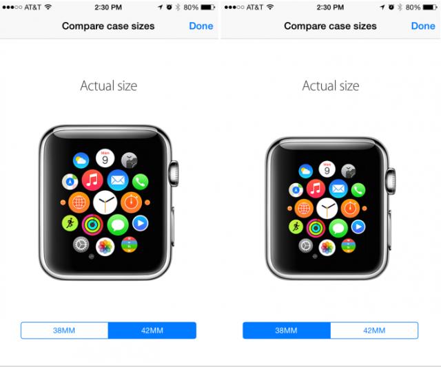 Aplikacija koja vam omogućava da pogledate kako izgleda Apple sat u realnoj veličini!