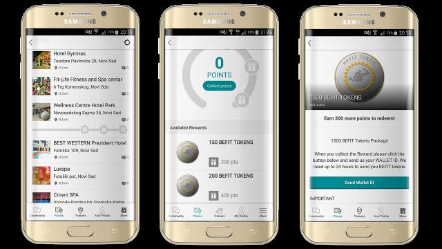 BeFit aplikacija vam plaća kriptovalutom zato što vežbate!