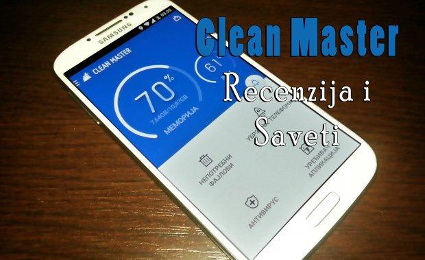 Clean Master: recenzija i saveti