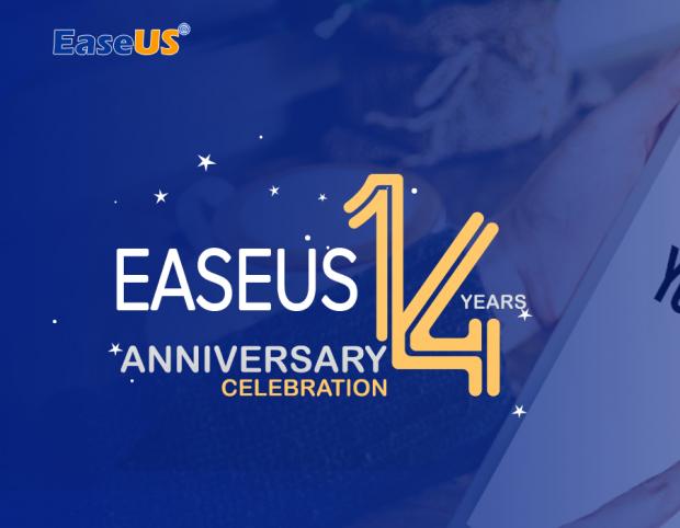 EaseUS.com slavi 14-ti rođendan i ima sjajne poklone za vas! (VIDEO)