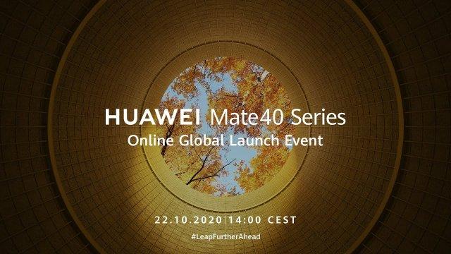 Evo gde možete uživo da pratite predstavljanje Huawei Mate 40 telefona! (VIDEO)