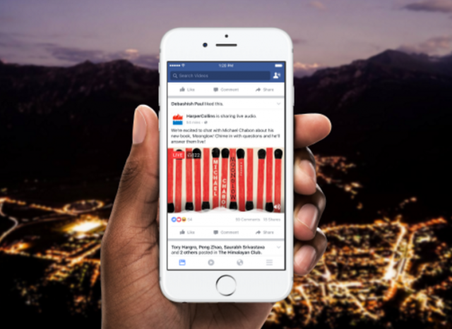 Facebook je lansirao uživo emitovanje audio sadržaja: Live Audio!