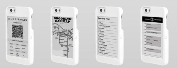 Futrola za iPhone sa ePaper erkanom! (VIDEO)