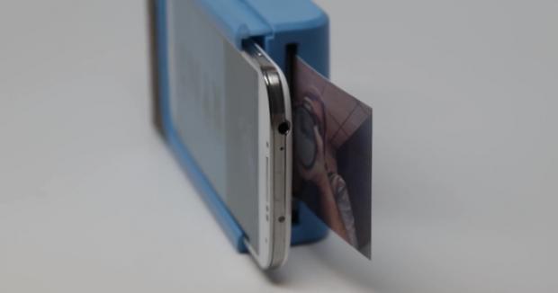 """Futrola za telefon koja štampa fotografije, """"Prynts""""! (VIDEO)"""