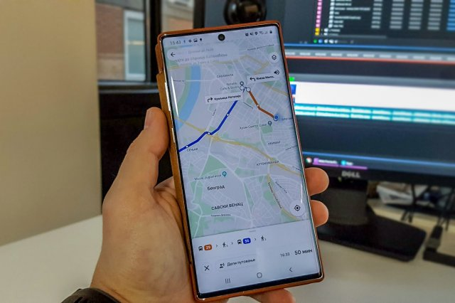 Google Mape Od Sada Prikazuju Javni Prevoz U Beogradu