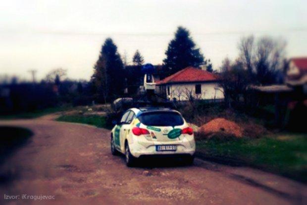 Google Street View automobil je spažen u Šumaricama!