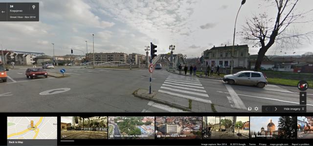 Google Street View je sada dostupan za korišćenje i za Kragujevac!