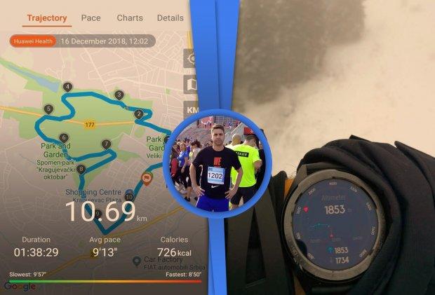 Huawei Watch GT na zglobu rekreativca! [Fitnes Test]