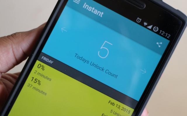 Instant aplikacija će vam reći koliko ste zavisni od telefona!
