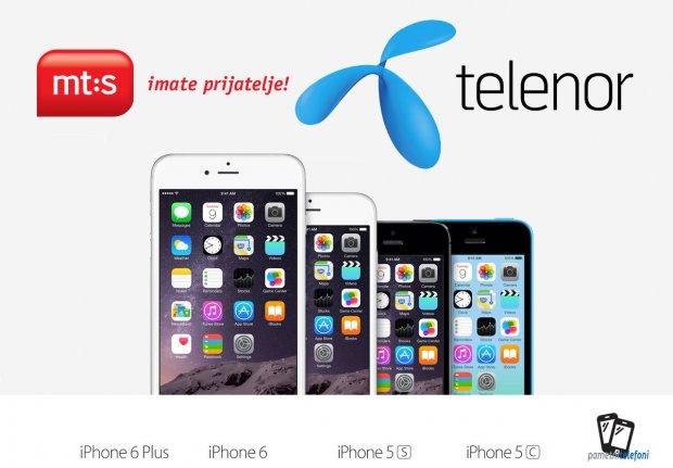 Apple telefoni preko paketa u Srbiji!