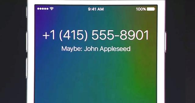 iPhone vam sada može reći ko vas zove iako broj nemate sačuvan u kontaktima! WWDC2015