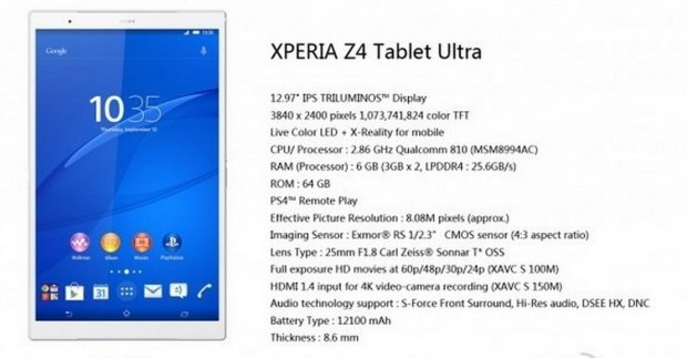 Iz Sony-a nam stiže tablet visoke klase!