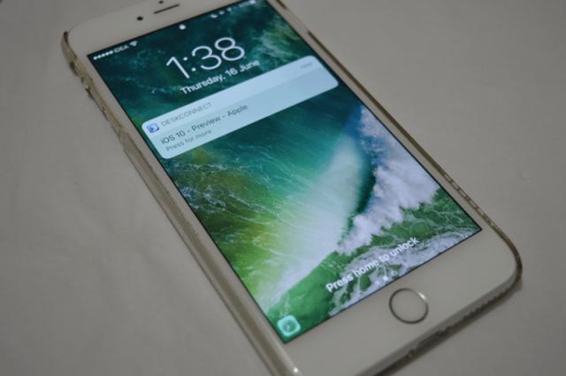 Kako brzo odgovoriti na poruku iz zaključanog ekrana na iOS 10 uređaju?
