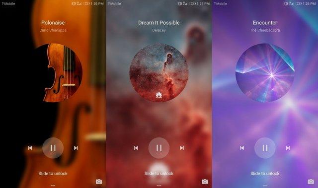 Kako dodati neku drugu aplikaciju za slušanje muzike na zaključani ekran EMUI?