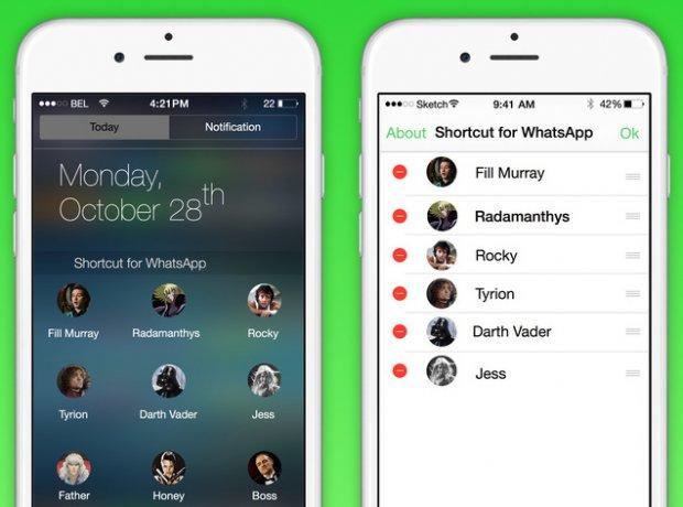 Kako dodati WhatsApp kontakt u notifikacioni centar na iPhone-u!?
