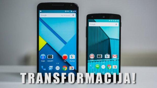 Kako transformisati Nexus 5 u Nexus 6 telefon!?