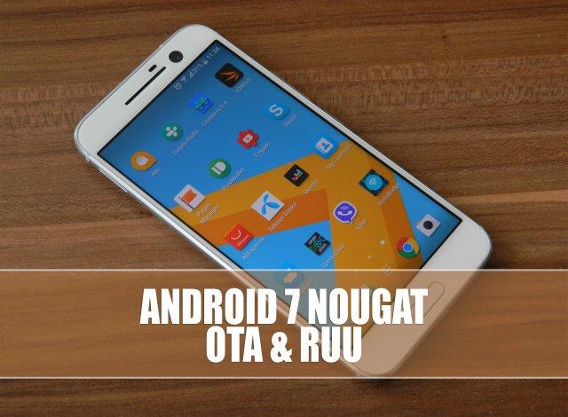Kako instalirati Android 7 Nougat na HTC 10? [Verzija za programere]