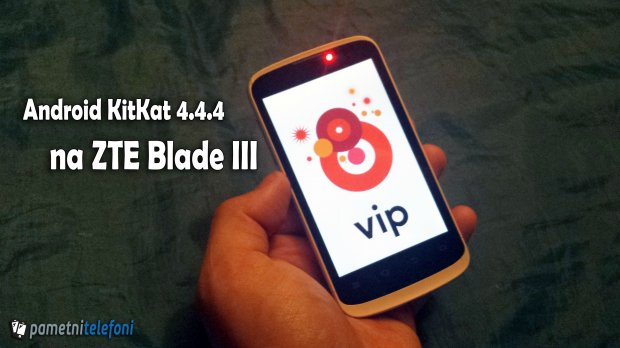 Kako instalirati Android KitKat na ZTE blade 3 telefonu?