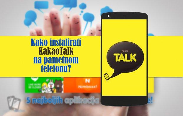Kako instalirati KakaoTalk na telefonu?