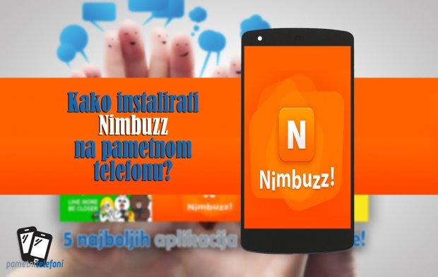 Kako instalirati Nimbuzz na telefonu?