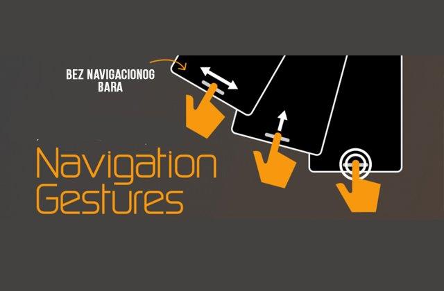 Kako koristiti gesture umesto navigacionih panela? (VIDEO)