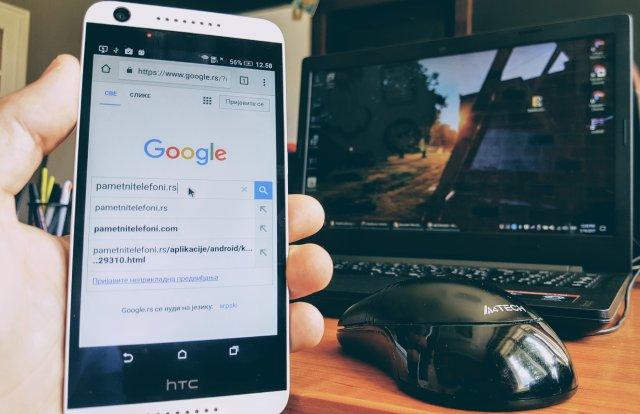 Kako koristiti miša i tastaturu na telefonu i računaru u isto vreme!