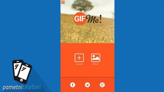 Kako napraviti GIF fotografiju na telefonu?