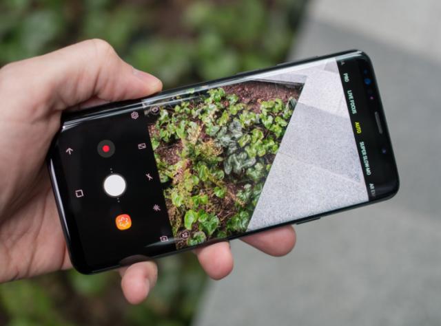 Kako napraviti skraćenicu za prednju ili zadnju kameru na Galaxy S9 telefonu?