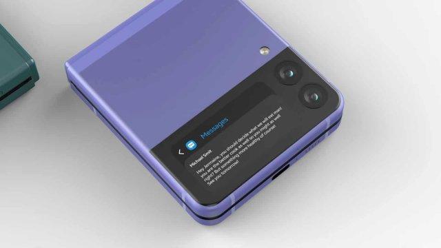 Kako pokrenuti bilo koju aplikaciju na sekundarnom Galaxy Z Flip 3 ekranu?