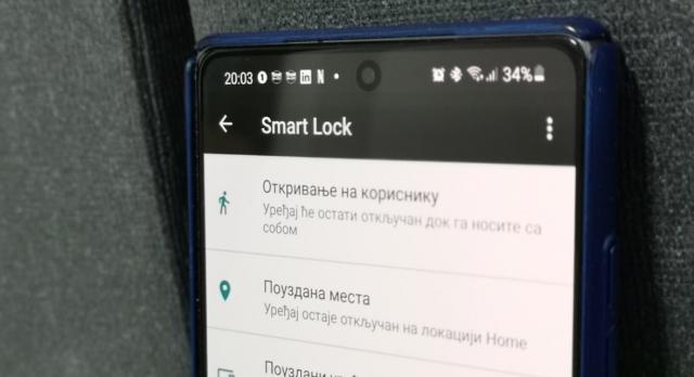"""Kako popraviti funkciju """"Pouzdana mesta"""" za Smart Lock otključavanje?"""