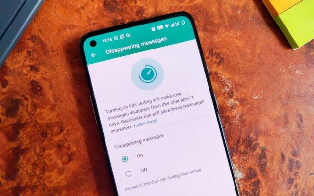 Kako poslati nestajuće poruke preko WhatsApp-a?