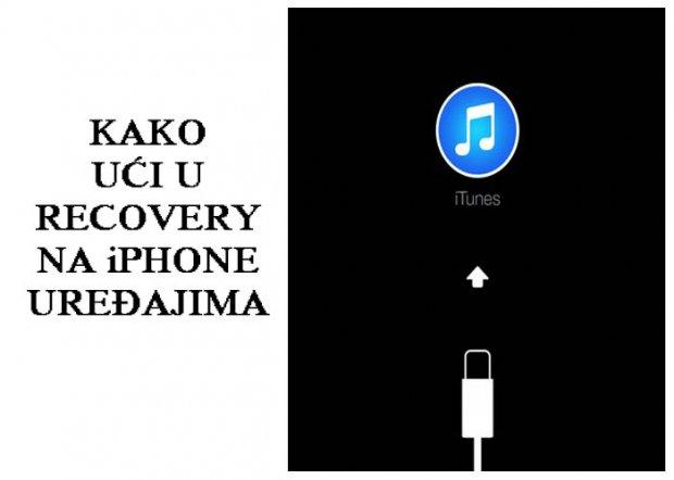 Kako prebaciti iPhone u recoveri mod? (VIDEO)