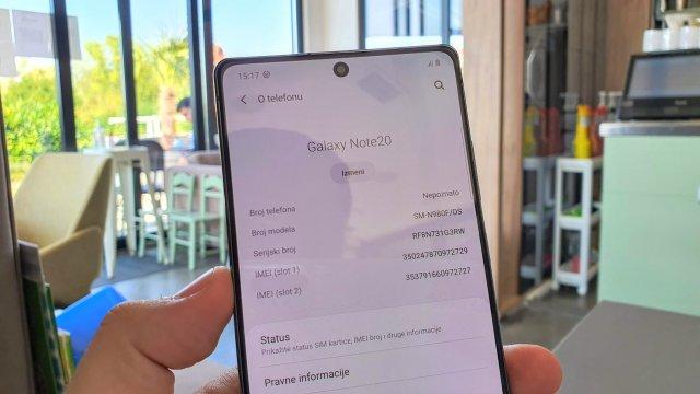 Kako promeniti ime Android telefona za WiFi ili Bluetooth?