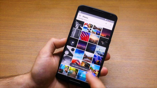 Kako pronaći nedavno sačuvane fotografije u Google Slike aplikaciji?