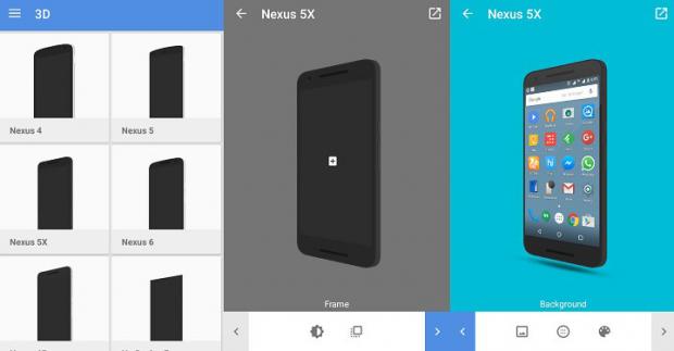 Kako uokviriti screenshot fotografiju nekim ramom telefona?