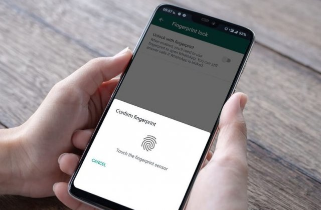 Kako zaključati ili otključati WhatsApp aplikaciju putem otiska prstiju?