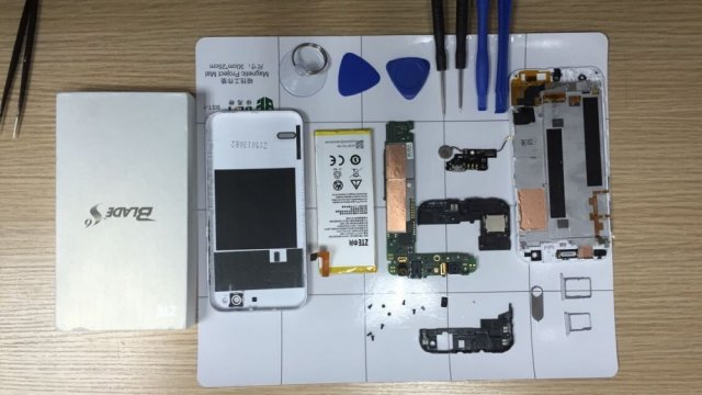 Kako zameniti ekran na ZTE Blade S6 telefonu? (VIDEO)