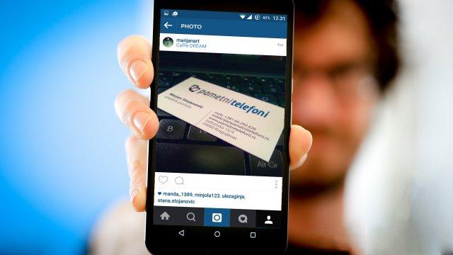 Kako zumirati fotografije na Instagram-u?