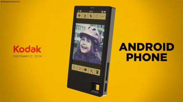 Kodak je rešio da zapliva u vode pametnih telefona!
