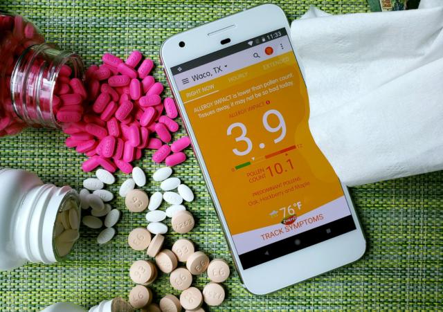Najbolje aplikacije za praćenje polena i alergija!