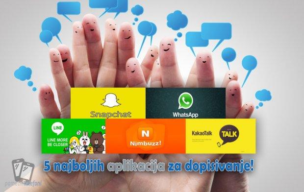 Najboljih 5 aplikacija za dopisivanje