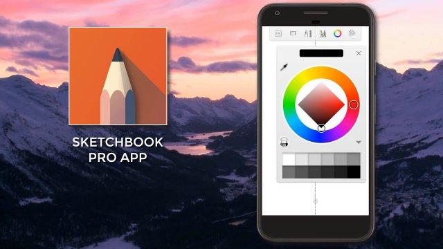 "Napredna aplikacija ""Autodesk SketchBook Pro"" je sada besplatna!"