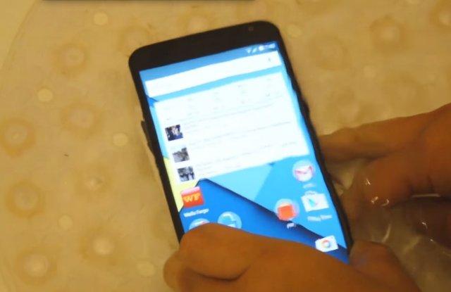 Nexus 6 je otporan na vodu!?