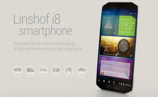 Nova Nemačka kompanija nam sprema octa-core Linshof i8 telefon!