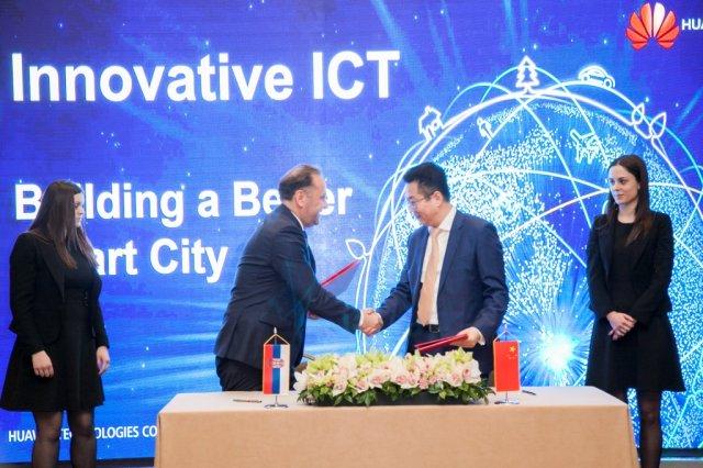 Novo strateško partnersvo Huawei komapnije i Srbije će doneti razvoj širokopojasne mreže!