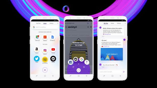 Opera Touch je novi internet pregledač koji je optimizovan za korišćenje jednom rukom!