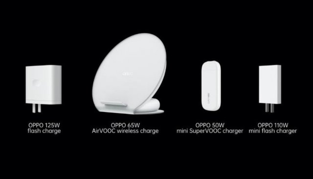 Oppo predstavio 125W Flash Charge i novu paletu punjača!