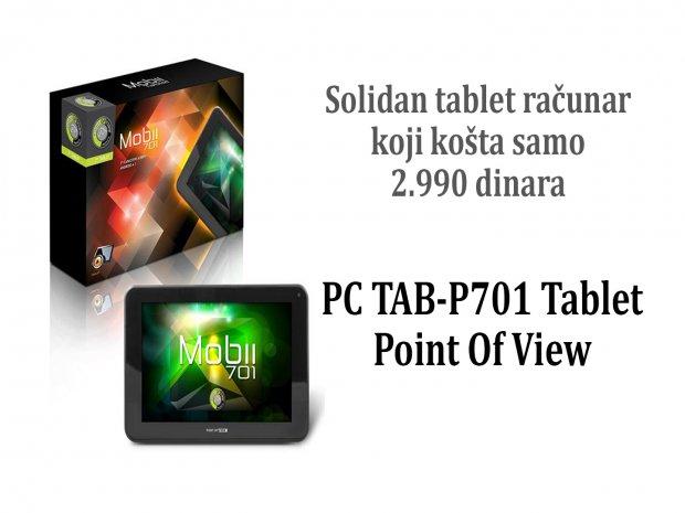 Ovo je najjeftiniji, a solidan tablet koji možete naći na našem tržištu! Samo 2.990 dinara!